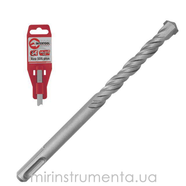 Бур SDS PLUS S4 INTERTOOL SD-0821