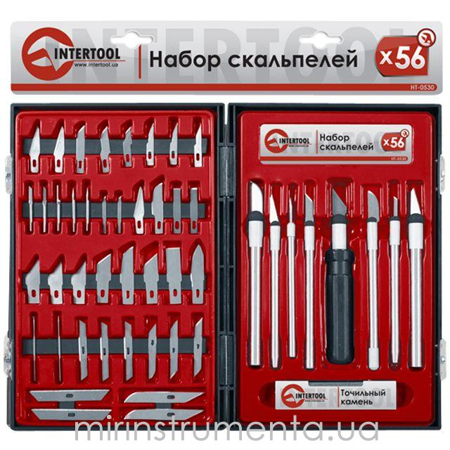 Набор скальпелей INTERTOOL HT-0530